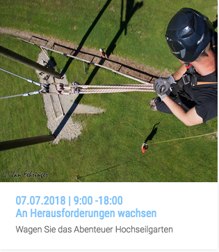 Workshop | An Herausforderungen wachsen | 07.07.2018