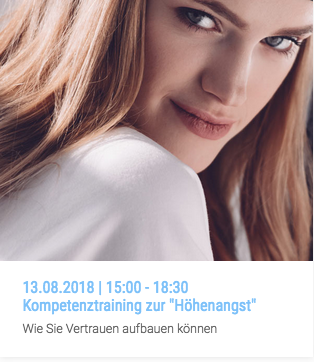 "Workshop | Kompetenztraining zur ""Höhenangst"" 