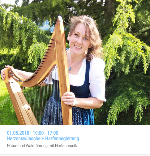 Workshop | Herzenswünsche + Harfenbegleitung | 01.05.2018