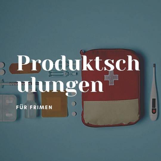 Produktschulung (pro Unterrichtseinheit)